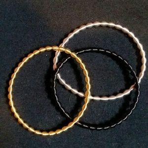 Jewelry - Metal Coil Stretch Bracelets